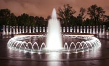 Fountains At World War II Memorial