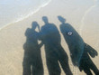 canvas print picture - Dreisamkeit am Strand