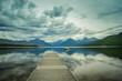 Lake McDonald in Glacier National Park, Montana, USA
