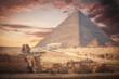 pyramids of Giza, in Egypt.