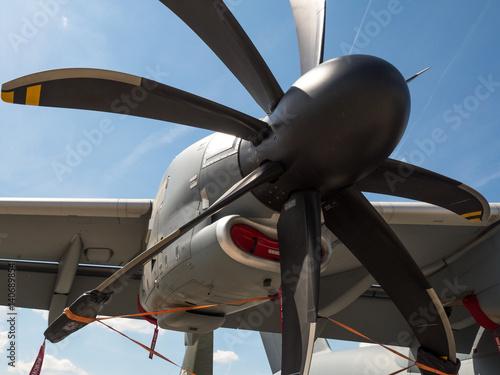 Obraz na plátne Propeller turbine