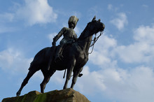 War Monument At Edinburgh.