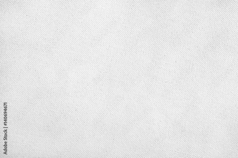 Fototapety, obrazy: Canvas background / White canvas texture background.
