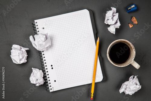 Leinwand Poster Creative block concept