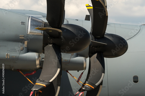 Fotografia, Obraz  Turboprop engines