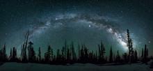 Milkyway Galaxy Arching Over U...