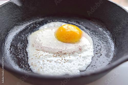 Deurstickers Gebakken Eieren Egg