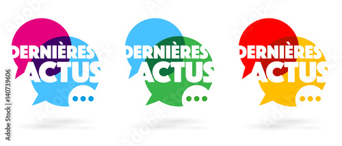 Fototapeta Dernières actus obraz