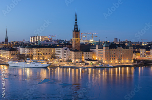 Staande foto Stockholm Stockholm, Sweden, Europe