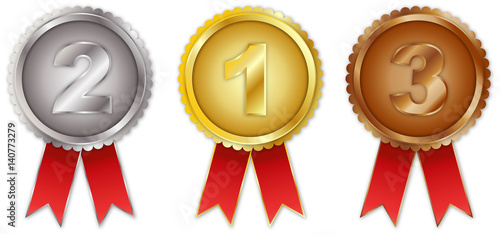 Fotografie, Obraz  1, 2 und 3 Platz Medaille