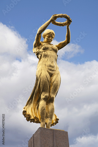 Fotografie, Obraz  The Golden Lady of Luxembourg