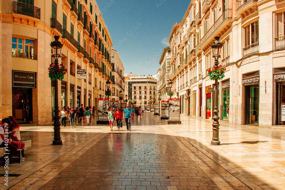 A Day in Malaga