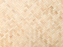 Weave Bamboo Texture Wood Back...