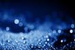 shiny bokeh in dark blue tone