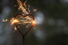 Heart Shape Sparkler