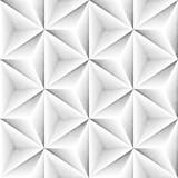 Seamless Monochrome Pattern. Grungy Geometric Shapes Tiling. - 140827481