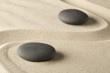 zen meditation stone background, Buddhism stones presenting ying yang for relaxation balance and harmony or spa wellness concept for purity.