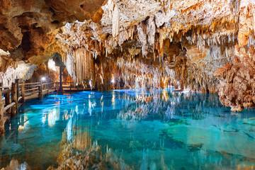 Panel Szklany Optyczne powiększenie Cave