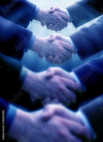 Fotografía  close up shot of handshake