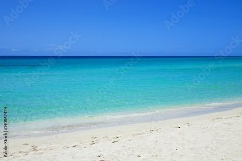 Foto op Plexiglas Caraïben Strand in der Karibik