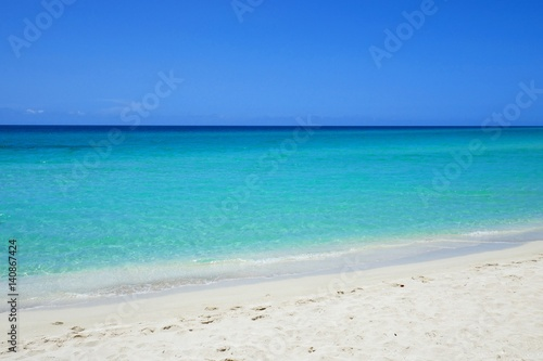 Foto op Canvas Caraïben Strand in der Karibik