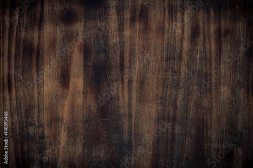 Cadres-photo bureau Bois Dark brown wooden texture.