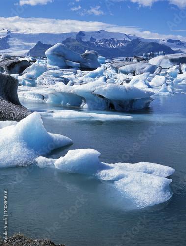 Foto op Aluminium Arctica Jökulsarlon, Island