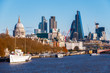 View of Greenwich from Island Gardens in London