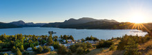 Panoramic View Of The Lake Lac...