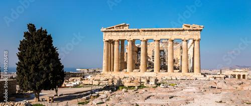 Photo sur Aluminium Athenes Parthenon temple, Acropolis in Athens, Greece.