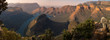 canvas print picture - Blyde River Canyon in South Africa
