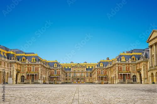 Fotografía  versailles palace entrance,symbol of king louius XIV power, France