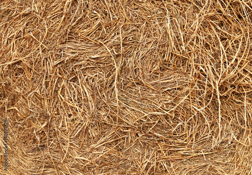 Hay stored bale full frame Canvas-taulu