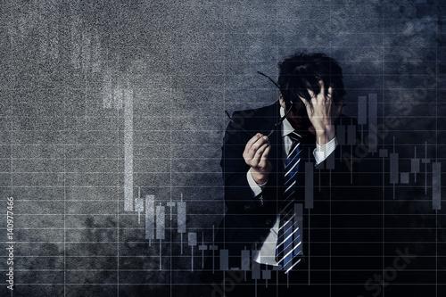 Fotografie, Obraz  投資リスク