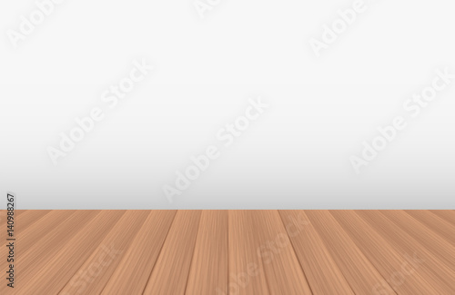 Empty Room With A Real Wood Floor Buy This Stock Vector And