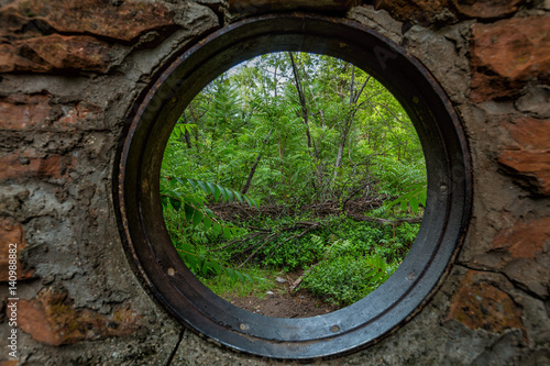 Looking Through a Portal Fototapeta