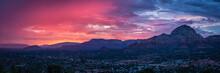 Sunset Over Sedona Arizona