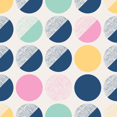 Obraz seamless pattern with circles