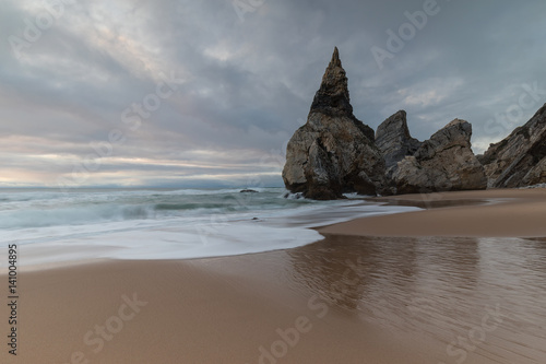 Strand Ursa In Colares Sintra Lissabon Buy This Stock Photo
