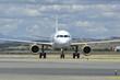 Frontal de avión de línea Airbus A319