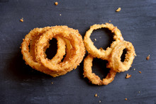 Onion Rings, Top View