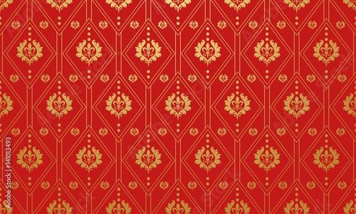 czerwona-tapeta-sztuka-wektor