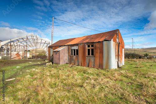 Abandoned Buildings Fototapet