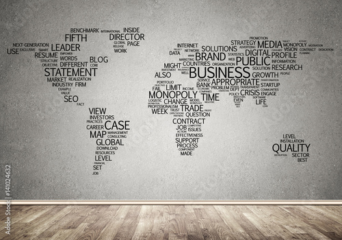 world-map-in-typography
