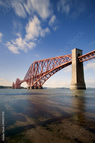 Recess Fitting Bridge The Forth Rail Bridge is a cantilever railway bridge opened in 1890 that crosses the Firth of Forth between Edinburgh and Fife in Scotland. It is the second largest bridge of its kind in the world.