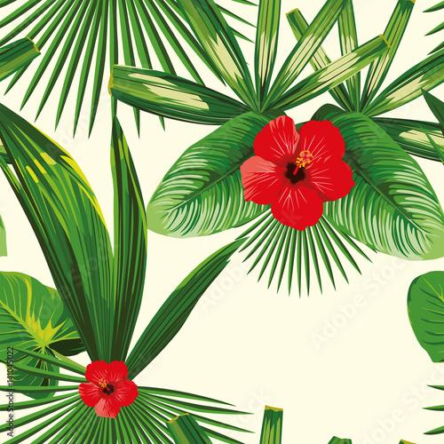 tropikalnych-lisci-hibiskusa-bezszwowy-bialy-tlo