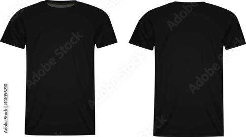 Fotografía  T shirt template vector