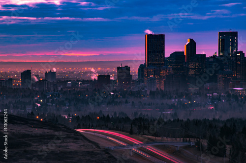 Foto op Aluminium Chicago Early Morning Calgary