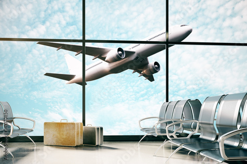 Photo sur Aluminium Aeroport Transportation concept