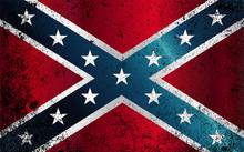 Confederate Civil War Flag Gru...